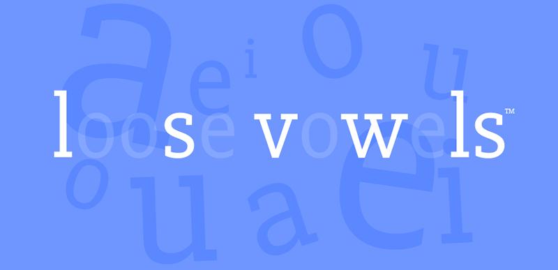 Loose Vowels logo